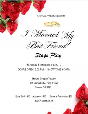 Hourglass Production Presents...I MARRIED MY BEST ...