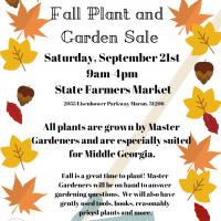 Master Gardener Fall Plant and Garden Sale