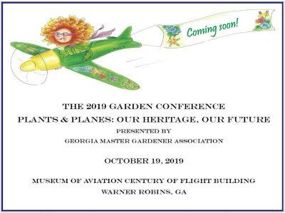 Georgia Master Gardener Association Conference 2019