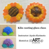Kiln-casting glass class