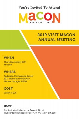 2019 Visit Macon Annual Meeting