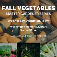 Master Gardeners - Fall Vegetables