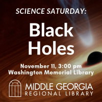 Science Saturday: Black Holes