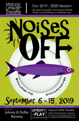 Macon Little Theatre's Noises Off by Michael Frayn
