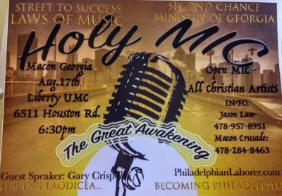 Holy Mic The Great Awakening
