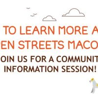 Open Streets Macon - Community Information Session