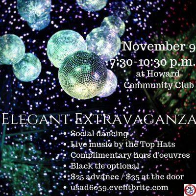 USA DANCE CHAPTER 6059 - ELEGANT EXTRAVAGANZA