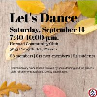 USA DANCE CHAPTER 6059 - FALL DANCE