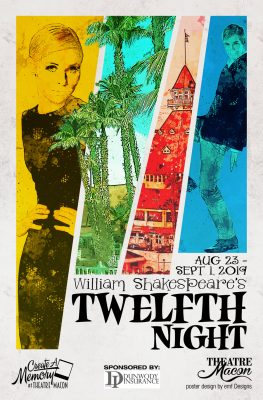 Theatre Macon's Twelfth Night by William Shakespea...