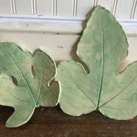 Friday Night Ceramic Workshop: Fig Leaf Bowl