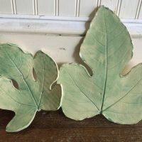 Friday Night Ceramic Workshop: Fig Leaf Bowl