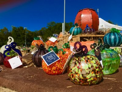 Celebrating ART Glass Pumpkin Patch
