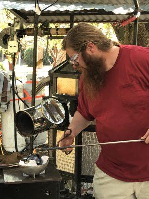 Celebrating ART Glassblowing Workshops by Hot Glas...