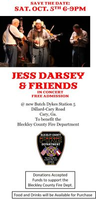 Jess Darsey and Friends in Concert