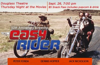 "Thursday Night At The Movies ""Easy Rider - 50th ..."