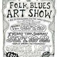 The Folk Blues Art Show