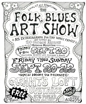 The Folk Blues Art Show