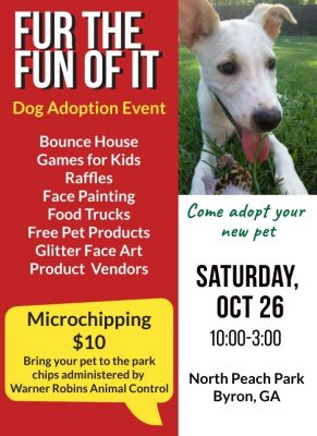 Fur the Fun of It Dog Adoption and Festival