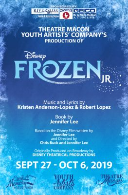 Theatre Macon presents Disney's FROZEN Jr.