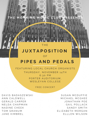 The Juxtaposition of Pipes and Pedals