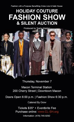 Holiday Couture Fashion Show & Silent Auction