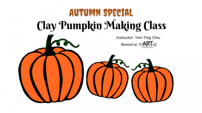 Autumn Special: Clay Pumpkin Making Class