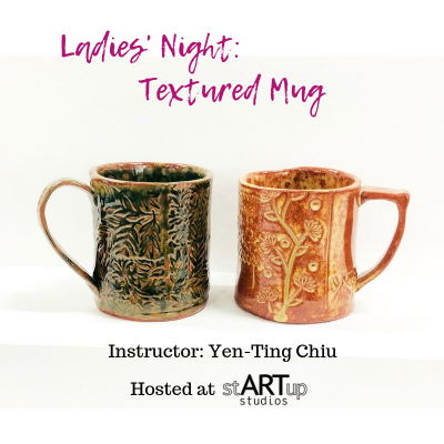 Ladies' Night: Textured Mug