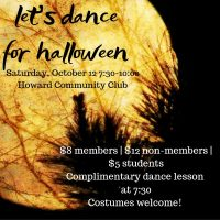 USA DANCE CHAPTER 6059 - HALLOWEEN SOCIAL DANCE