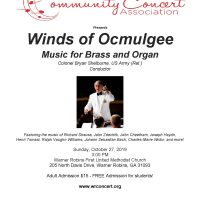 Winds of Ocmulgee Brass & Organ
