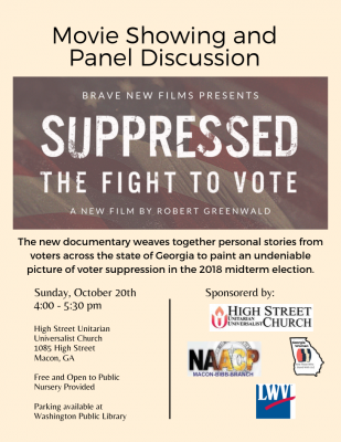 Suppressed: The Fight to Vote Film Showing and Pan...