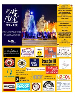 "Make Music Winter Macon Music Extravaganza - ""Shake It Up and Make A Joyful Noise"""