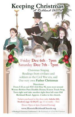 Keeping Christmas at Historic Richland Church