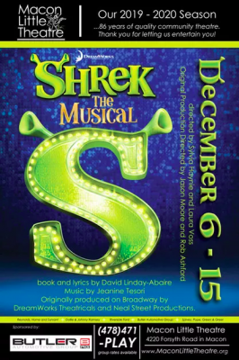 Shrek the Musical at Macon Little Theatre