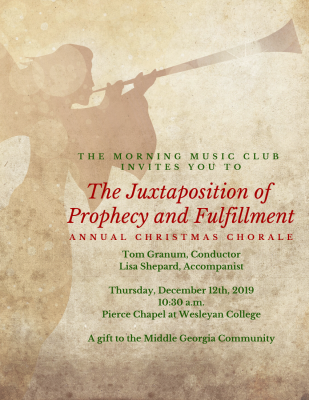 The Juxtaposition of Prophecy and Fulfillment: Christmas Chorale