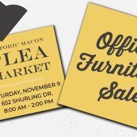 Historic Macon's Office Furniture Sale
