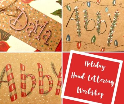Holiday Hand Lettering Workshop