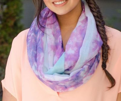 Tie Dye Scarves Workshop