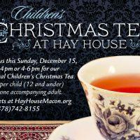 Children's Christmas Tea