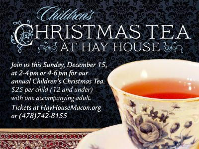 Children's Christmas Tea