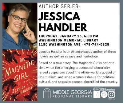 Author Series: Jessica Handler
