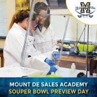 Souper Bowl Preview Day at Mount de Sales Academy