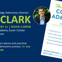 "Rick Clark and ""The Truth about College Admission"""