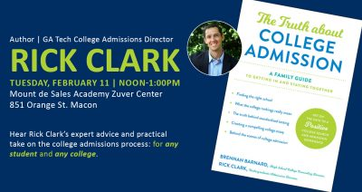 """Rick Clark and """"The Truth about College Admission"""""""