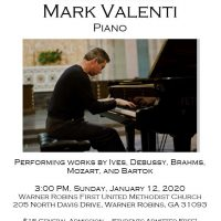 Mark Valenti, Pianist