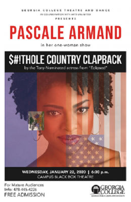 Pascale Armond's $#!THOLE COUNTRY CLAPBACK
