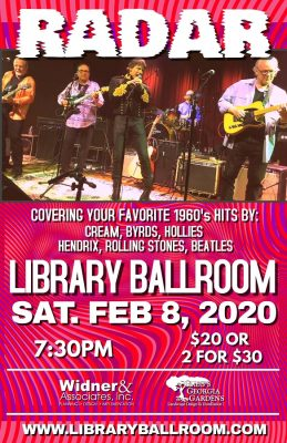 Rockin' Evening with RADAR at Library Ballroom