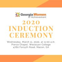 Georgia Women of Achievement 2020 Induction Ceremony