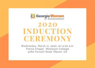 Georgia Women of Achievement 2020 Induction Ceremo...