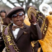 Fat Tuesday Second Line and Concert with Reggie Trombone Love
