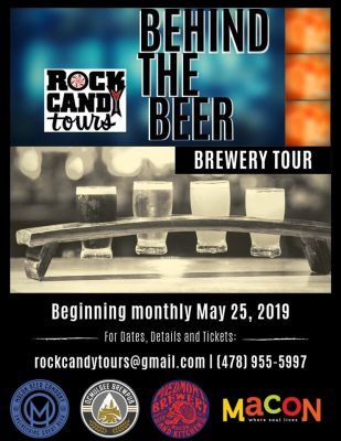 Behind the Beer Brewery Tour